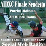 FINALE CAMPIONATO AIBXC 1^ parte