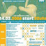 Housemeister @ 1 Jahr Seidenfabrik-Seidenfabrik Meets Stammheim - Seidenfabrik Pirna - 14.02.2004