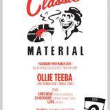 DJ Ollie Teeba Classic Material (Hip Hop 1991) Mixtape part 1