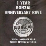 "DJ Fly at ""1 Year Bonzai Anniversary Rave"" @ Extreme (Affligem - Belgium) - 1 October 1993"