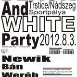 2012.08.03. newik live @ 7. black&white party nádszeg (sk)