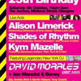 David Morales @ STREETrave The Arches Glasgow 04-10-2014