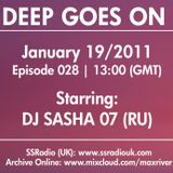 Deep Goes On 028  with DJ Sasha 07