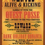 (Side A) Kenny Ken - 'Wanted Alive & Kicking' - Quest At The Que Club 30th April 1994