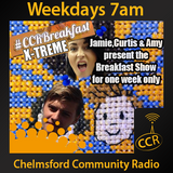 Monday Breakfast - @CCRBreakfast - Lucy, Rob and Jamie - 21/07/14 - Chelmsford Community Radio