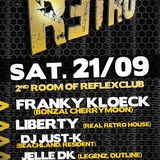 Just-k @ Retro Reflex (Club Reflex Westerlo) 21.09.2013