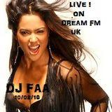 DJ FAA... LIVE ON DREAM FM UK ......OLDSKOOL HOUSE 1991/92
