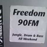 DJ Omen & Static MC – Freedom FM 105.0 [March 1996]