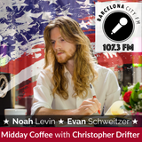 Midday Coffee E12 - US Politics with Christopher Drifter, Noah Levin, and Evan Schweitzer