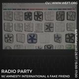 Radio Party 001: Primordial Halloween (feat. Amnesty International & fake friend)