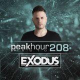 Peakhour Radio #208 - Exodus (Aug 09th 2019)