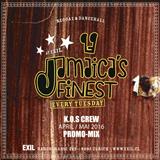 Jamaicas Finest April/Mai 2016 Mix