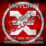 KRYONIX DJ-SET VOL. 1