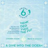 "Yves De Ruyter at ""A Dive Into The Ocean"" @ Cherry Moon (Lokeren - Belgium) - 6 August 1993"