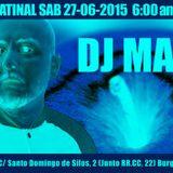 DJ Manzana - Klymax music club - Burgos - 27-6-2015