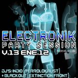 PLAYSKULL – ELECTRONIK PARTY @ LENNON'S CLUB 13-01-2012 (PART 1)