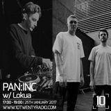 PAN:INC w/ Lokua - 25th January 2017