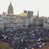 Frente de Abogadxs Populares - Dr. Adrián Albor - Movilizaciones al Congreso (18/12/17)