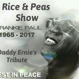 Sunday Rice & Peas on Vibes Classics & One HOUR FRANKIE PAUL TRIBUTE. Sunday Serenade Classic R&B.