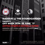 Hernan Cattaneo B2B Nick Warren - Sudbeat & The Soundgarden (Barcelona) live pt.2