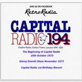 CAPITAL Radio Opening - Kenny Everett Show - 1st Birthday record