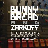 BUNNY BREAD'S & ZARKOFF ELECTRO MEGA MIX NIKE AF1 CELEBRATION