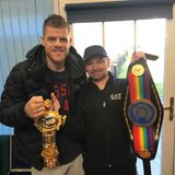 Boxing champion Callum Johnson pop's in for a chat.