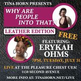 Live! Leather Edition: Erykah Ohms & Santos: Pleasure Chest NYC July '18