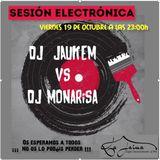 JAUKEMvsMONARISA - jaukem live session La Jaima (sant celoni 19/10/2018)