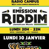 Emission RIDDIM 30 janvier 2017 avec Skyman sound