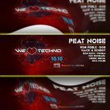 Peat Noise @ WE LOVE TECHNO, Hype Club, Stuttgart (Germany) (10.OCT.2014)