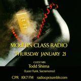 MOdERN CLASS on Radio CPR 101.7 FM #3 w/ Dj Kung Fu Chris (Computa Games) & guest mix by Todd Shima