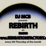 DJ MCB presents Rebirth on iradio SensationFactory 017 - MCB 2 hours mix