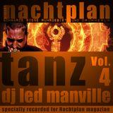 DJ Led Manville - Nachtplan Tanz Vol.4 (2012)