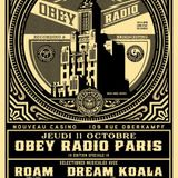 OBEY RADIO / set WHEEL / OCT 12 @ NOUVEAU CASINO