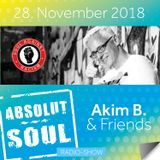 Absolut Soul Show /// 28.11.18 on SOULPOWERfm