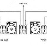 Vince vs. The Vinyl Junk vs. The Viper vs. Cixx @ Oldschool Madness (8 Deck Battle) (24-12-2003)