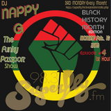 dj Nappy G-THE FUNKY PASSPORT show (for Radio Superfly)-Ep. 4 [Black History Month]-1st Hour