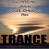 dj archy club oxygen july 28th cd