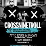 Adam Touch live @ JATE Progression w/ CrossNineTroll