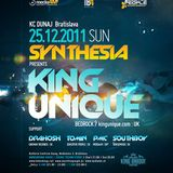 Tomin Tomovic - Live @ Synthesia, KC Dunaj 25-12-2011