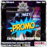 Korruption@Boxed Promo Mix