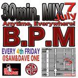 B.P.M 30min.MIX JULY2016