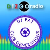 Week 52 2014) Club Generations Live mix on Dizgo Radio FM