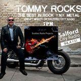 Tommy Rocks Aug 19,16 on @SalfordCRadio