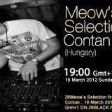 Contan guestmix to 28Meow's Selection 18.03.2012.