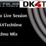 Kriz Miller @ DK4Techtime - Cuebase-FM Radio (120 Minuten Techno Mix) 21.09.2013
