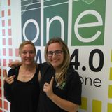 One FM 94.0 - Foodie Friday - LJ chats to Nicola Bentley - The Evolution Cafe Xperience 05052017