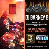 DJ Barney B Live Promo mix for Back & Forth event Aspers Casino March 3rd 2018