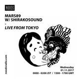 Mars89 W/ Shirako Sound: November '17